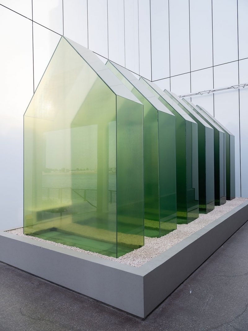 Shaikha Al Mazrou, Green house Interior yet Exterior, Manmade yet Natural, 2018,Production and Sale of a commissioned sculpture for the Art Jameel garden,3 x 2 x 6 m